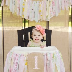 High Chair Decorations 1st Birthday Boy Osaki 7075r Massage Review Girls Banner First Party Supplies
