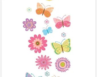 clipart mother's day pink butterflies