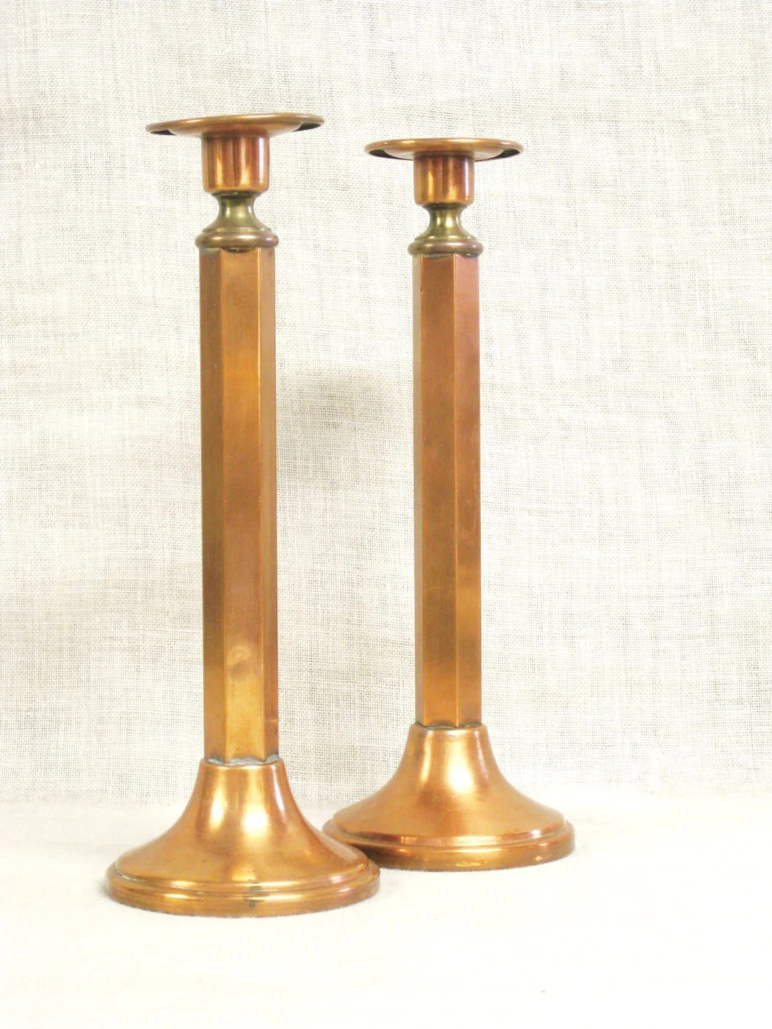 Candle Holders Copper Candle Stick Mid