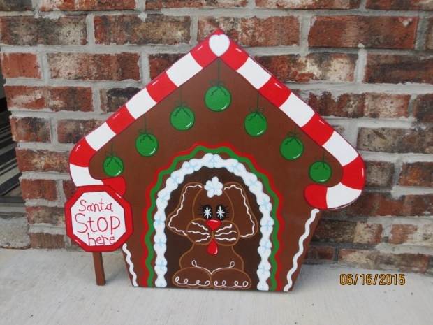 christmas gingerbread house yard decoration - Christmas Gingerbread House Yard Decoration