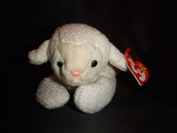 Fleece Lamb Beanie Babies Collection Original