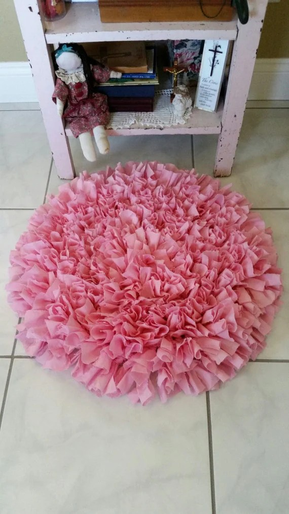 machine washable kitchen rugs cabinet on wheels handmade shag rag rug small hand crochet round