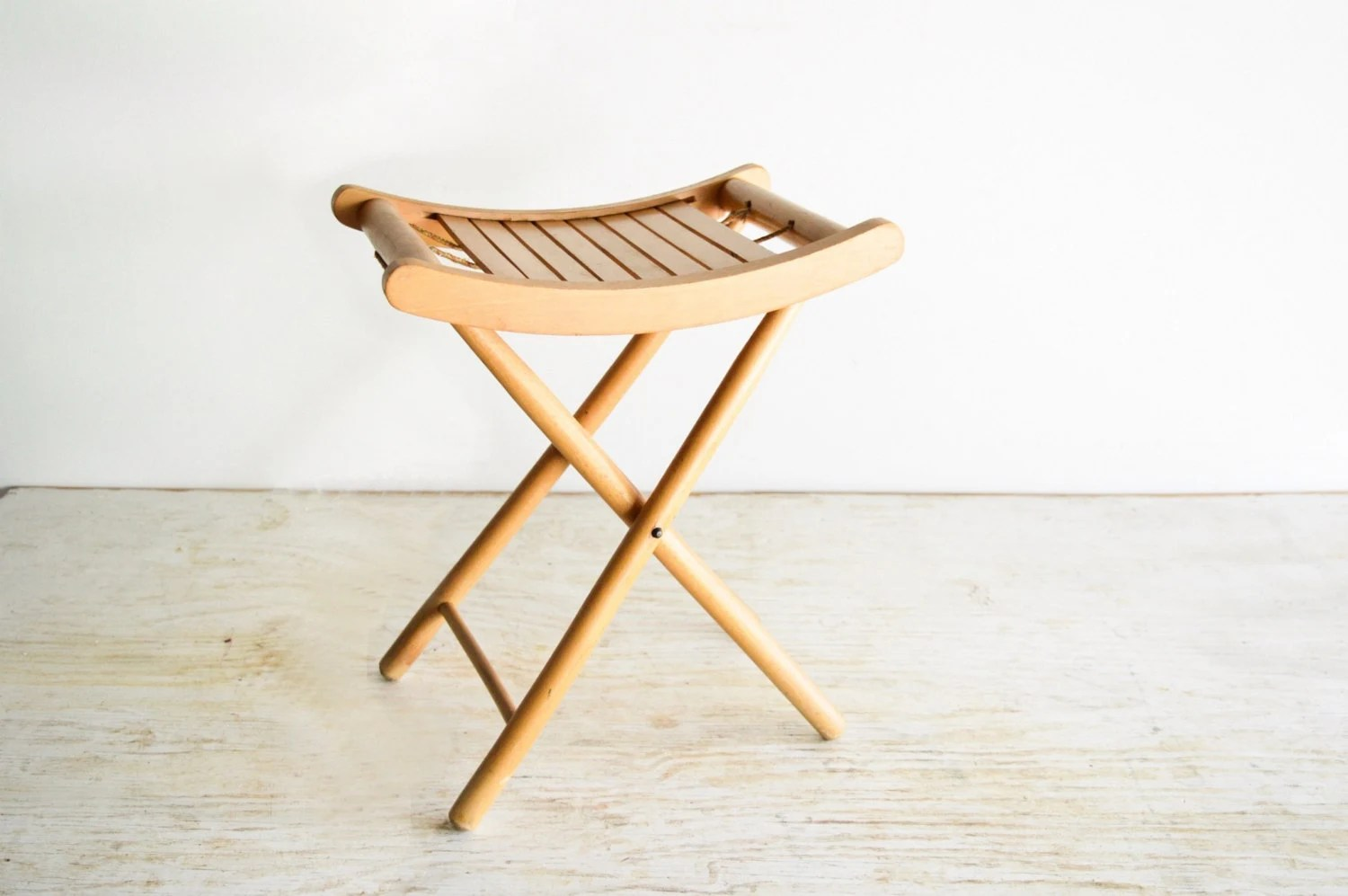wood camp chair eames repair stool folding camping by