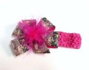 girls pink mossy oak brown green