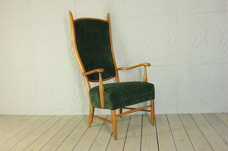 high back velvet chair sofa for toddler italian style new upholstery green mid