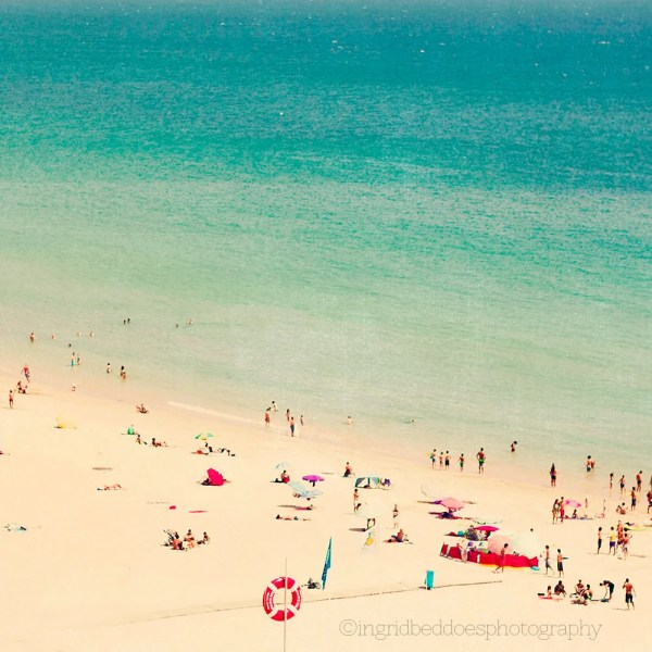Aerial Beach Photography Art for Walls