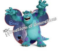Disney Cruise Magnet for Door Decoration Sully