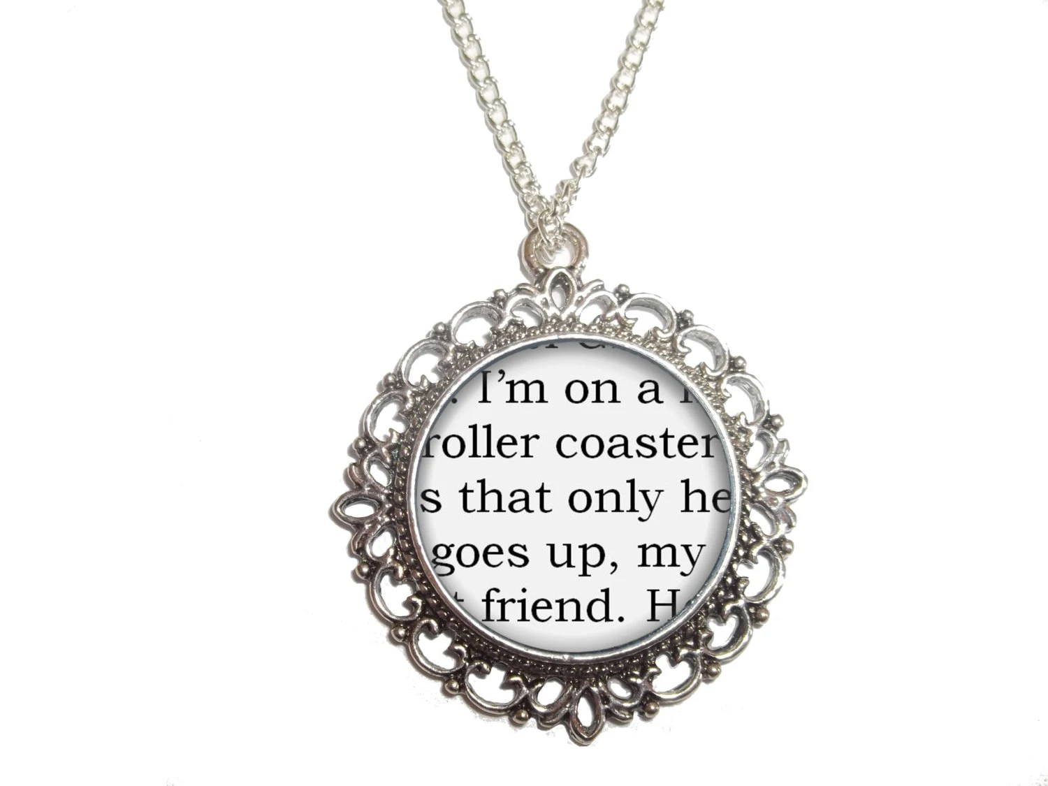 The Fault in Our Stars Necklace 'I'm on a by AnSeanchai on