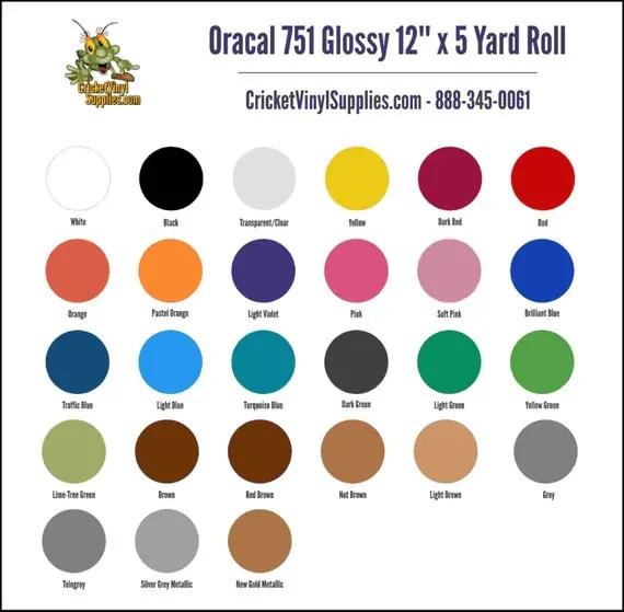 Oracal 751 Vinyl - Maison design d'intérieur et idées de