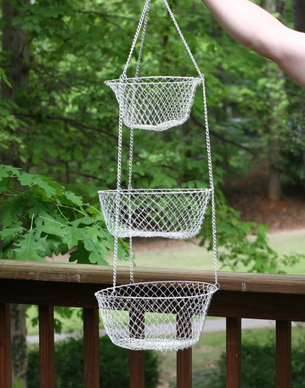 Hanging Wire Basket Collapsible