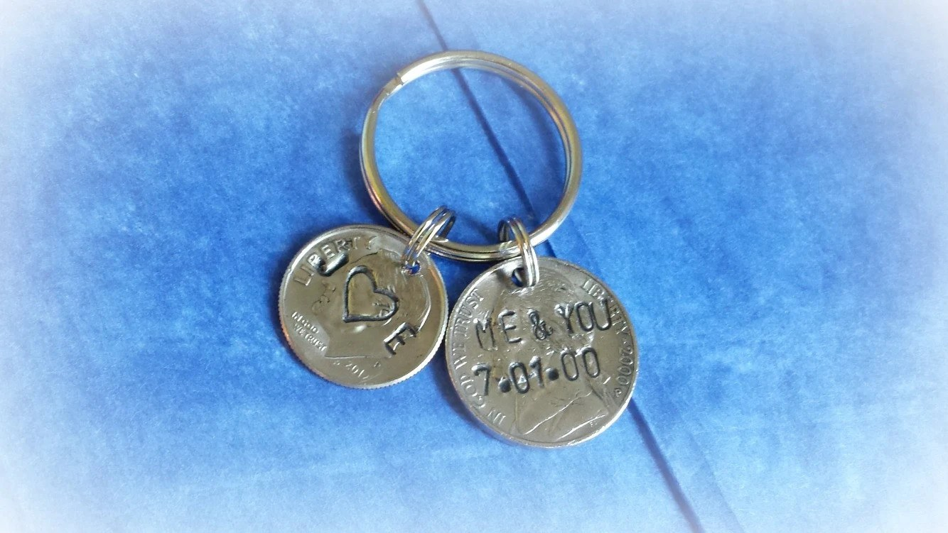15th Anniversary For Men 15 Year By HandStampedTrinkets On