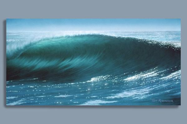 Surf Art Print Northcoast Airbrush Seascape