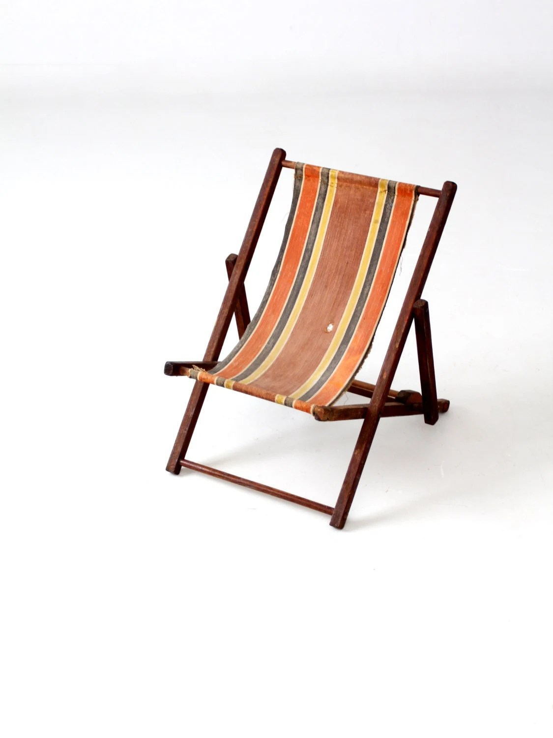 Child Beach Chair Vintage Children 39s Deck Chair Beach Chair