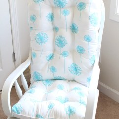 Nursery Glider Rocking Chair Recaro Seat Office Custom Cushions/