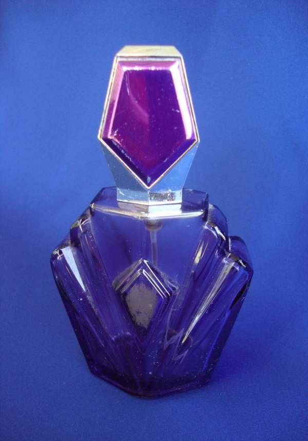 Elizabeth Taylor Purple Perfume Bottle
