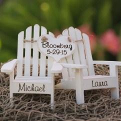 Adirondack Chair Cake Topper Tempur Pedic Ergonomic Mesh Mid Back Office Black Tp9000 Personalized Chairs Beach