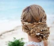 wedding pearl head chain bridal