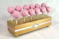 Gold Cake Pop Stand. Wedding Cake Pop Holder. Cake Pop Stand.