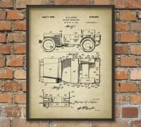 Military Vehicle Patent Print Army Vehicle Design World