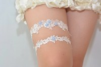 garters for weddingblue bridal garter wedding garter bride