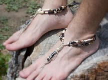 Barefoot Sandals Men Handmade Shoes Wedding