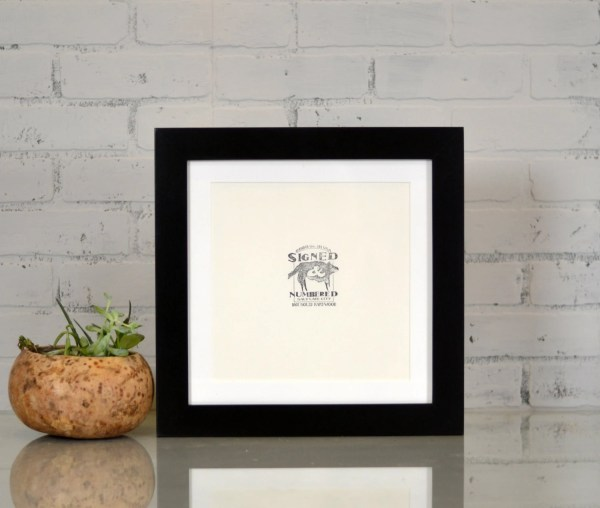 Handcrafted 12x12 Square Frame In 1.5
