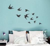 Bird Wall Decal / Flying Birds Wall Deal / Birds Wall Sticker