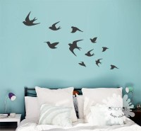 Bird Wall Decal / Flying Birds Wall Deal / Birds Wall Sticker