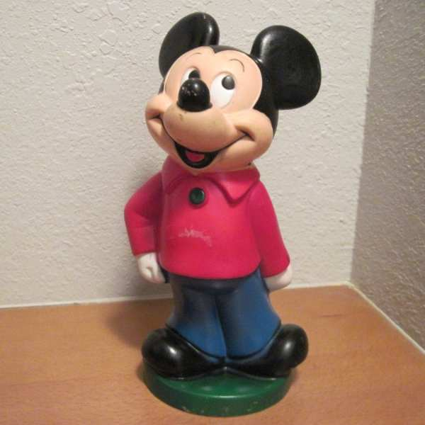 Vintage 1970' Walt Disney Mickey Mouse Club Bank Play