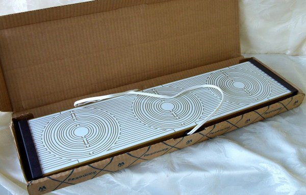 Vintage Electric Food Warming Tray In Box Coffeepotshop