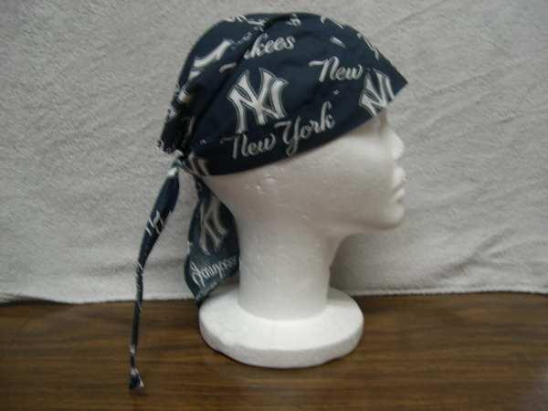 Ny Yankees Skull Cap -rag