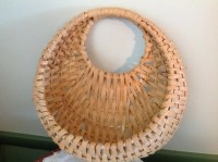 Wicker Wall Pocket Wicker Flower Basket Wall Mount Basket