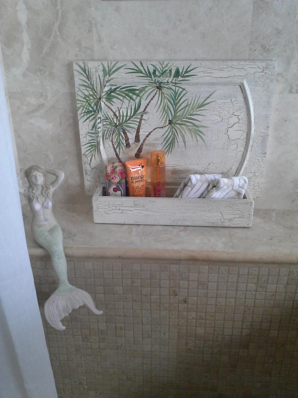 palm tree kitchen decor air coastal wall art vintage by
