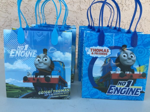 Thomas Train Favor Bags Fantastikcreations