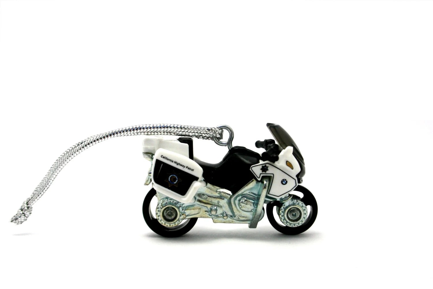 BMW R1200 RT-P Police Motorcycle Matchbox Ornament