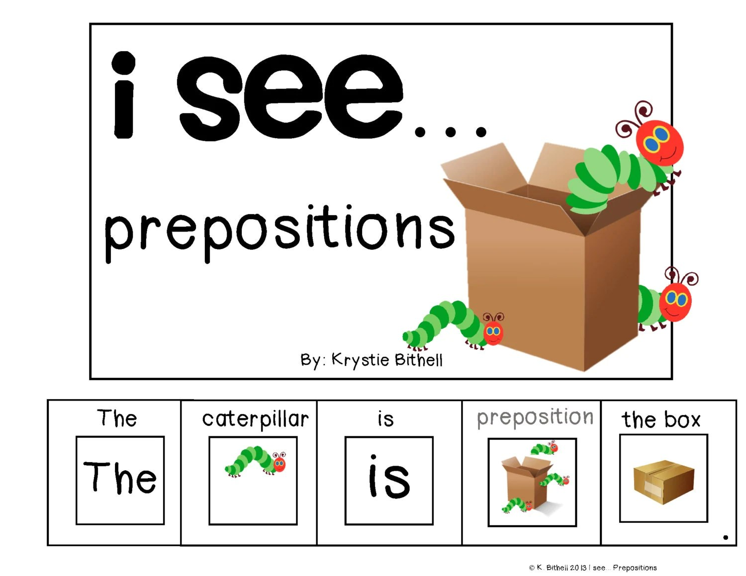 Prepositions Adapted Book For Special Needs Autism Speech