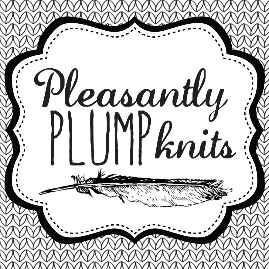 hand knit items by pleasantlyplumpknits on Etsy