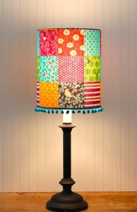 Multi Color Drum Shade Lamp Shade Lampshade Pendant by