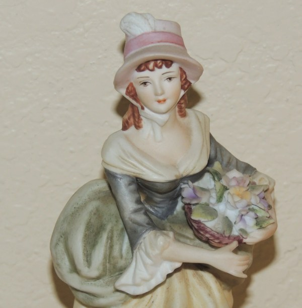 Lefton 7 Lady Figurine