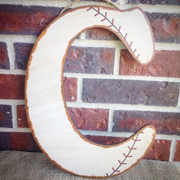 Baseball Wall Letters