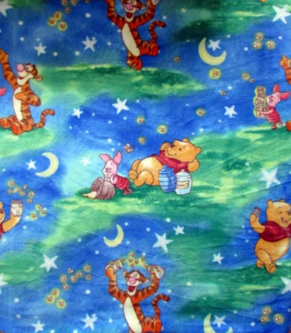 Yard Fleece Winnie Pooh Fabric Springs Creative