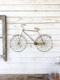 Bicycle Wall Decor Bicycle Bike Art Bicycle Art Five Hooks