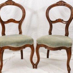 Antique Vanity Chair Rent A Tent And Tables Chairs Pair Slipper Boudoir