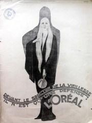 l'oreal hair dye ad vintage advertising