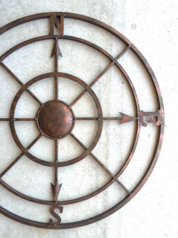 Compass Metal Nautical Decor