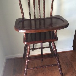 Vintage Wooden Chairs Shower And Benches High Chair Jenny Lind Antique