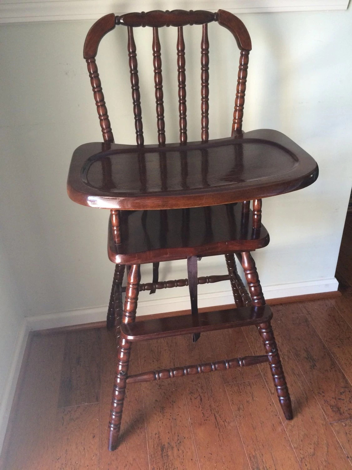 Antique Wooden Chair Vintage Wooden High Chair Jenny Lind Antique High Chair