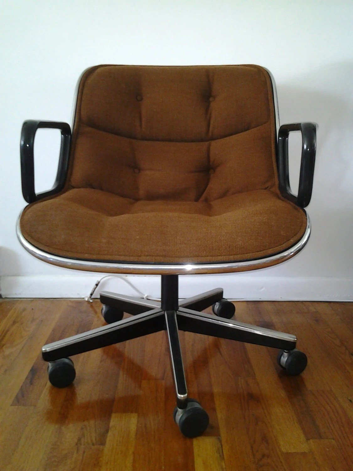 Knoll Pollock Chair Mid Century Modern Charles Pollock For Knoll Office Chairs In