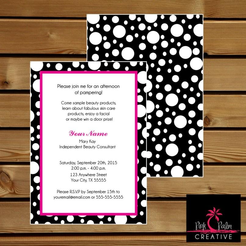 mary kay skin care class invitation | Invitationjpg.com