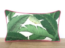 Palm Leaf Outdoor Pillow